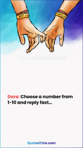 31 Best WhatsApp Dare Games To Play with Lovers & Friends 25