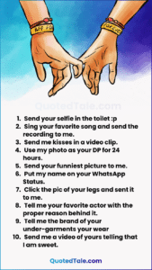 31 Best WhatsApp Dare Games To Play with Lovers & Friends 26